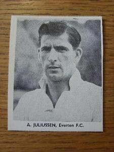 1948-1949-Sporting-Mirror-Cut-Out-Everton-Juliussen-A-3-x-3-No-obvious