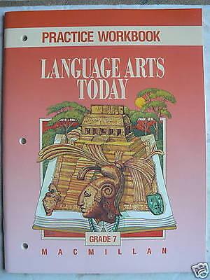 Mcgraw Hill Language Arts Today Gr 7 7Th Workbook New