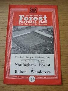 07-02-1959-Nottingham-Forest-v-Bolton-Wanderers-Torn-Inside-No-obvious-fault