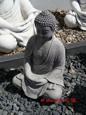 Buddha Steinfigur Statue Gartenfigur In Nordrhein