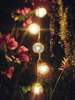 Coconut Hanging Lamps Garden Party Light Natural Art Night