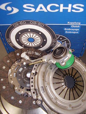 SACHS DUAL MASS FLYWHEEL AND CLUTCH KIT CSC SLAVE BRG FOR SEAT LEON FR 2.0 TDI
