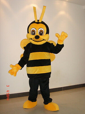 Bee Adult Mascot Costume For Festival Unisex Party fancy dress parade outfit sui](Bee Costume For Adults)