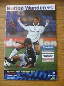11-11-2000-Bolton-Wanderers-v-Barnsley