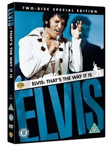 NEW! ELVIS PRESLEY That's The Way It Is (2 disc edition) REGION 2 DVD UK