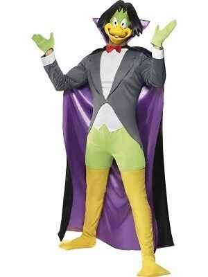 Adult Count Duckula TV Show - Cartoon Duck Character Halloween Costume](Cartoon Character Halloween Costumes Adults)