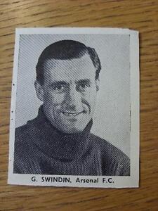 1948-1949-Sporting-Mirror-Cut-Out-Arsenal-Swidin-G-3-x-3-No-obvious-fau