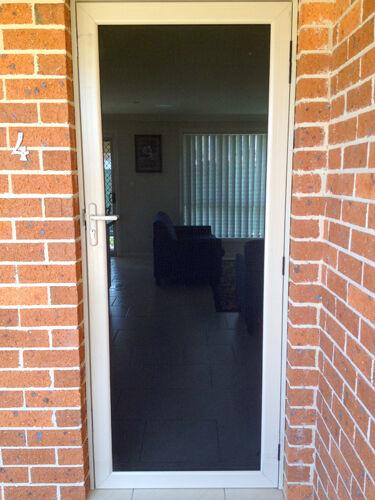 Security Screen Doors Australian Custom Custom Steel