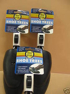 SHOE-TREES-MENS-ADJUSTIBLE-PLASTIC-6-PAIR-LOT-Fast-Ship-from-USA