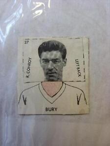 1961-DC-Thompson-Club-Colours-Cut-Out-Bury-R-Conroy-No-obvious-faults-unles