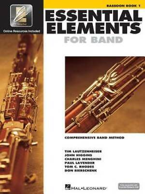 Essential Elements 2000: Bassoon Book 1 - Paperback By Hal Leonard Corp. - GOOD 2000 Bassoon Book