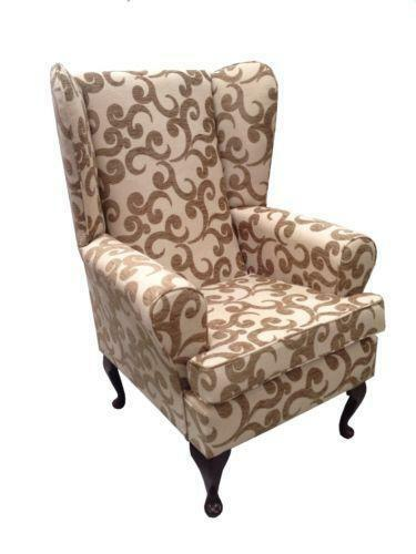 High Back Wing Chair Ebay