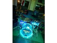 Pearl Crystal Beat 22'' 4pc Ultra Clear