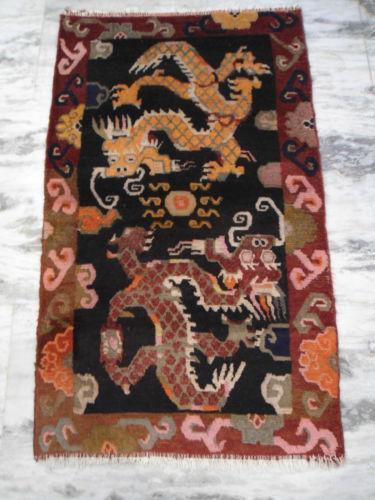 Tibetan Dragon Rug Ebay
