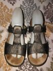 Rieker Leather Sandals Women's 9 Women's US Shoe Size