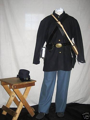 Deluxe Starter Uniform Package - U.S Or CSA Gray - Even Sizes 30-50 - Civil War!