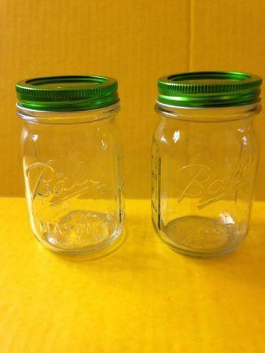 mason jars with lids ebay. Black Bedroom Furniture Sets. Home Design Ideas