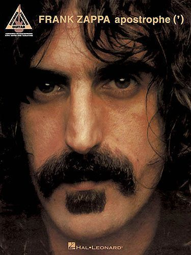 Frank Zappa Apostrophe ' Learn to Play Rock Pop Guitar TAB Music Book