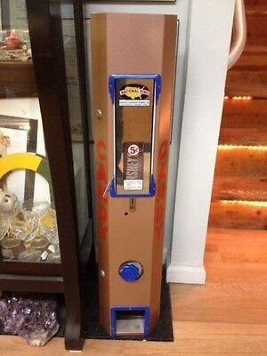 Vintage National King 5¢ Candy Machine