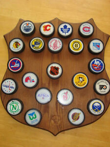 Texico Puck and Plaque