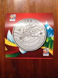 2015 $20 FIFA Women's World Cup - Silver Commemorative West Island Greater Montréal image 1