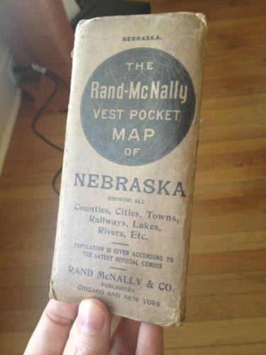 Rand McNally Map EBay - Rand mcnally easy to fold maps