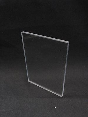 Sibe-r Plastic Supply Polycarbonate Clear Sheet .040 X 24 X 24