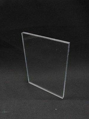 .040 X 24 X 24 Inch Clear Color Polycarbonate Sheet Plate Panel