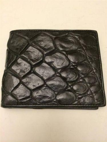 Mens Alligator Wallet Ebay