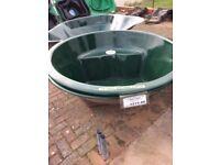 NEW Atlantis Small Circle Fibreglass Preformed Pond 585lts (130gall) COLLECTION