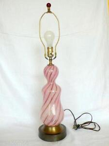 Murano lamp ebay pink murano lamp aloadofball Image collections