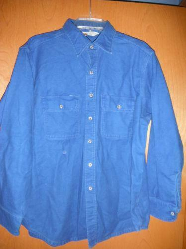 Mens Heavy Flannel Shirt Ebay