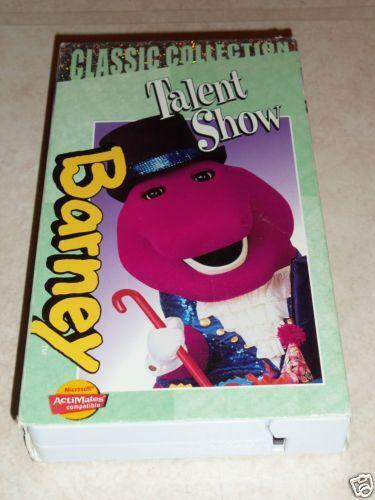 Barney Talent Show: VHS Tapes