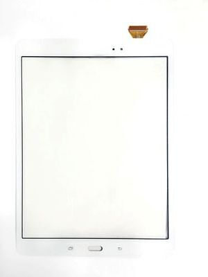 "White Samsung Galaxy Tab A 9.7"" Sm-p555m Touch Screen Dig..."