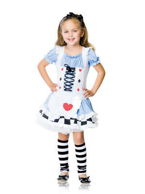 Adorable Miss Wonderland Kids Halloween Costume](Children's Wonderland Halloween)