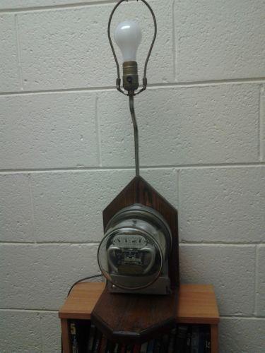 Electric Meter Lamp Ebay