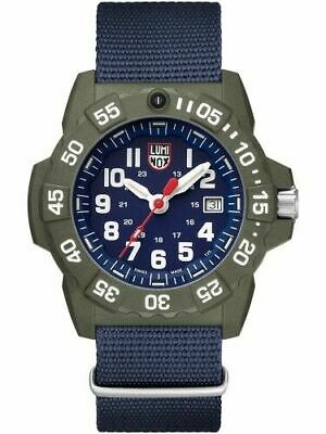 Luminox XS.3503.ND Men's Navy Seal Series Blue Face 45mm Nylon Strap Watch