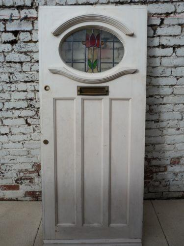 Edwardian Stained Glass Door Ebay