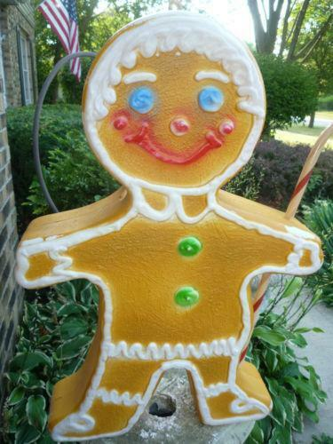 Gingerbread Yard Decorations Ebay