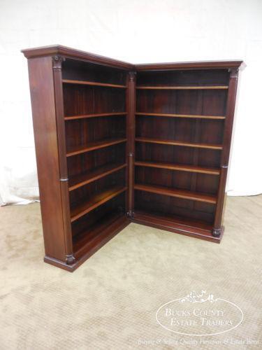 Antique Corner Bookcase Ebay