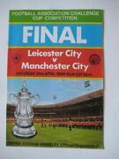 Cup Final Football Programmes