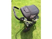 Quinny Buzz Black Standard Pushchair Single Seat Stroller with Extras