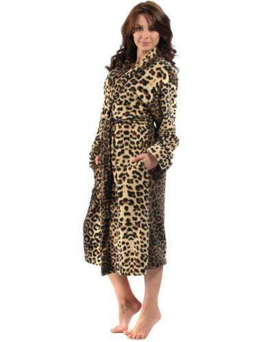1136902cfe Animal Print Dressing Gown