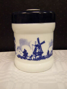 Holland Opaline Canister