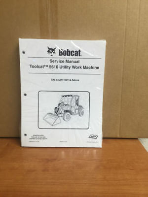 Bobcat 5610 Toolcat Utility Vehicle Service Manual Shop Repair Book 3 7228018