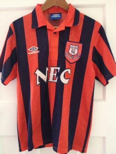 Everton Away Shirt   eBay