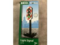 Brio Light Signal - 33743. Boxed and in excellent condition