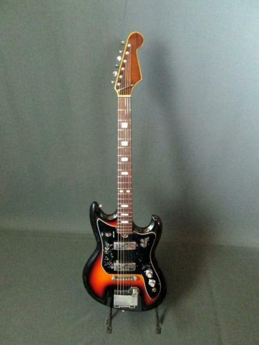 teisco del ray guitar ebay. Black Bedroom Furniture Sets. Home Design Ideas