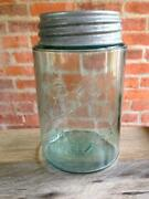 Green Fruit Jar