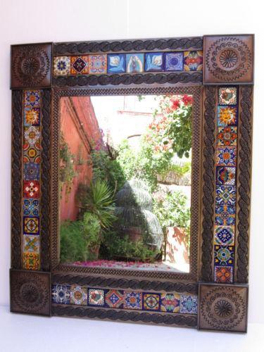 Mexican Tile Mirror Ebay